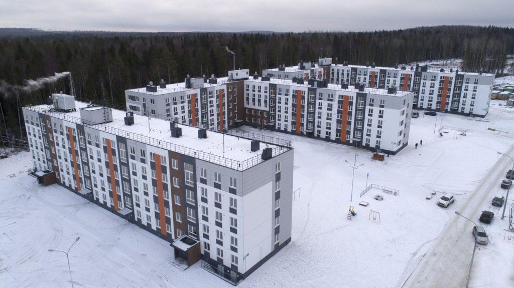 Новостройки для расселения аварийного жилья в Петрозаводске