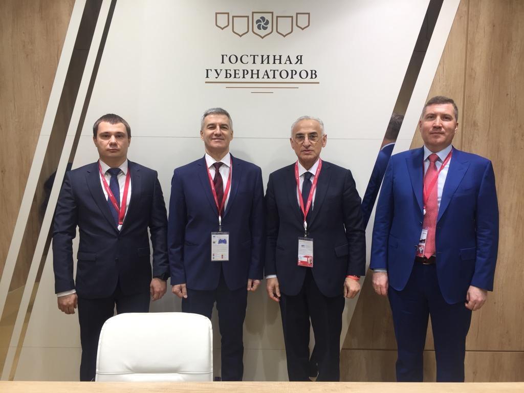 Карельская делегация на форуме в Сочи