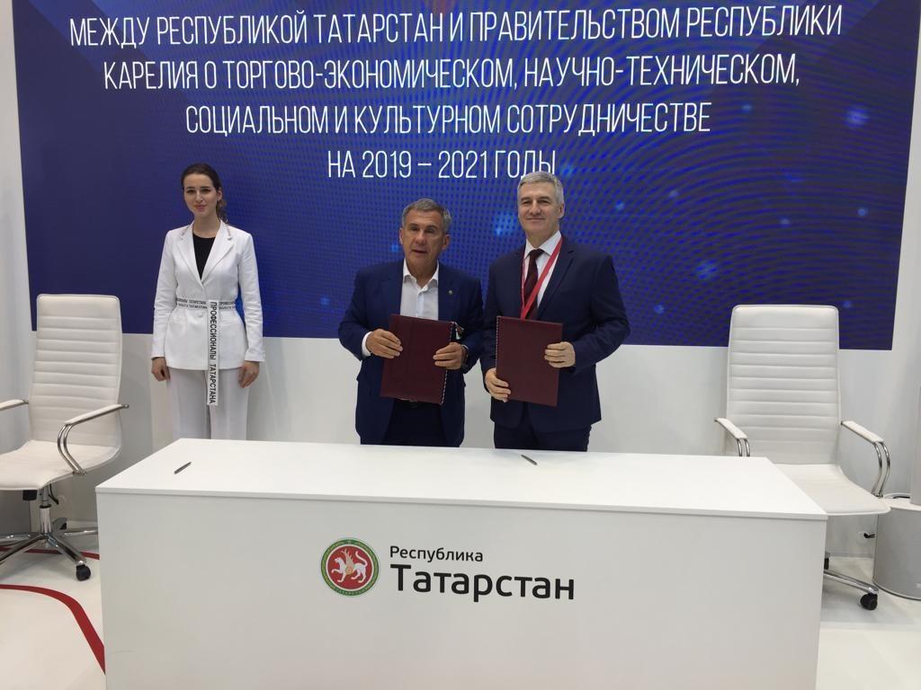 А.Парфенчиков и Р.Минниханов