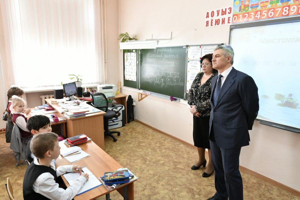 Артур Парфенчиков в школе искусств