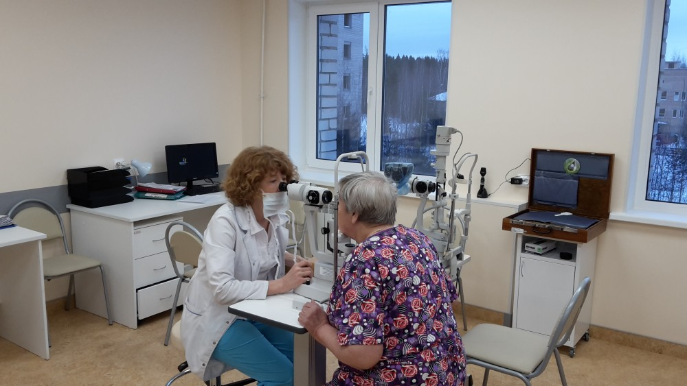 Офтальмологическое отделение Республиканской больницы Карелии