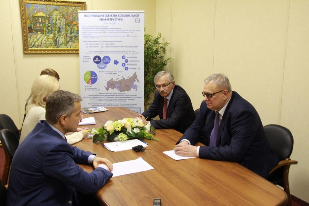 Встреча Александра Чепика и Константина Цицина