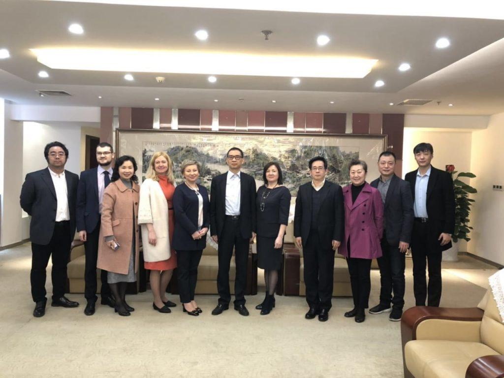 Карельская делегация в Китае