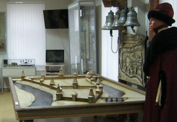 Макет крепости в Олонецком музее