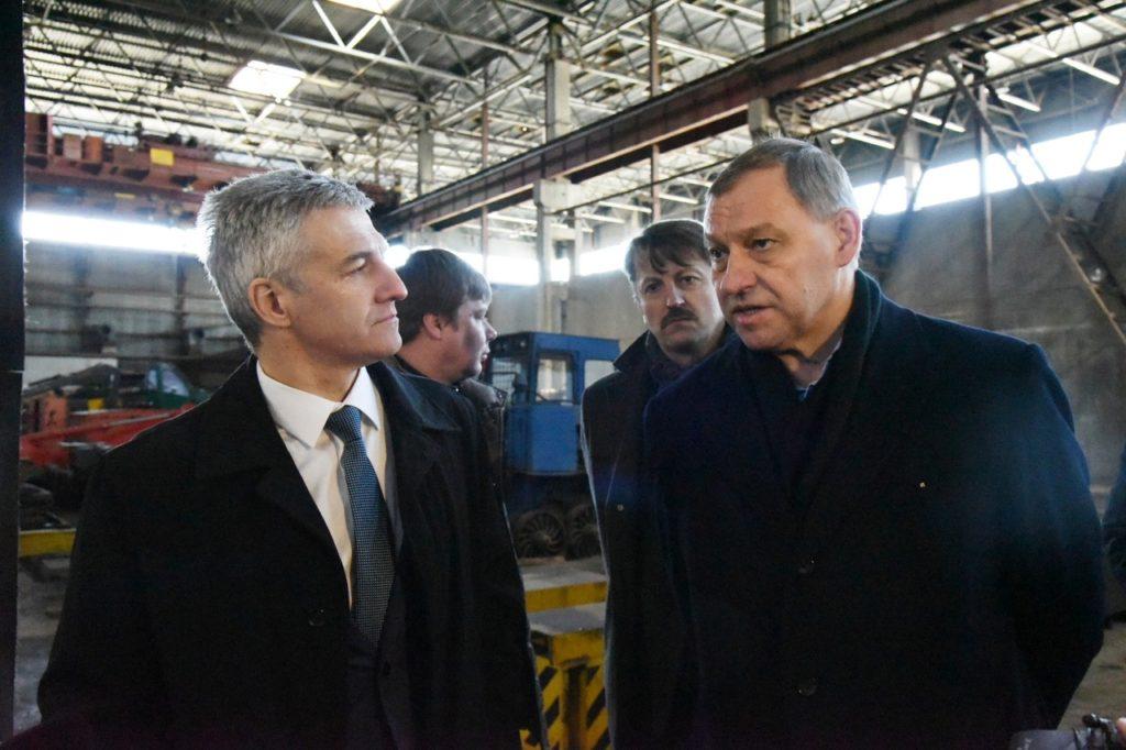 Артур Парфенчиков и Александр Шакутин