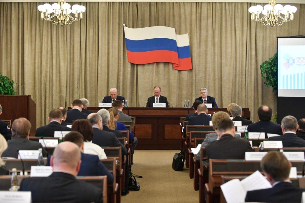 заседании Госкомиссии по подготовке 100-ле республики Карелият