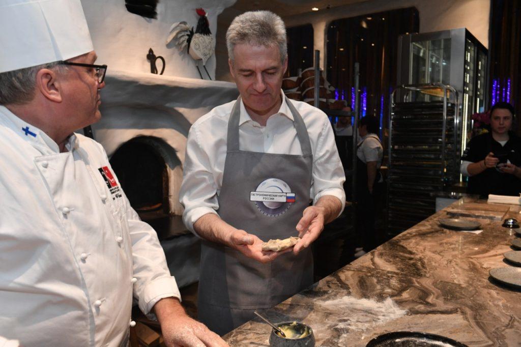 Артур Парфенчиков открывает Неделю карельской кухни в Москве